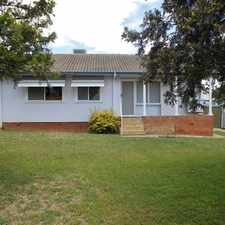 Rental info for Three Bedroom Home in South Tamworth in the West Tamworth area