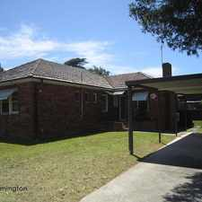 Rental info for Wonderful Four Bedroom Home. in the Rydalmere area