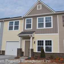 Rental info for Hopeton Ct 2836 in the Indian Trail area