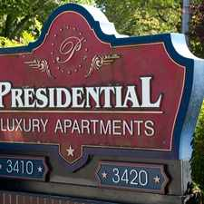Rental info for The Presidential Apartments