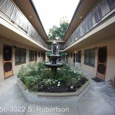 Rental info for 2956 S. Robertson Blvd. APT 2956-07 in the 90232 area