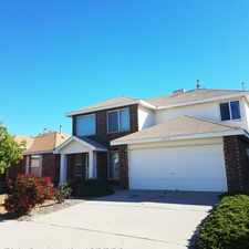 Rental info for 8123 Waterbury Pl. NW in the Los Volcanes area