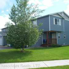 Rental info for 2420 Daws Drive, Unit D in the Bozeman area