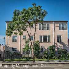 Rental info for 1627 N Normandie Ave - 05 in the East Hollywood area
