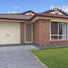 Rental info for Neat, Sweet and Complete! in the Parafield Gardens area