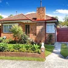 Rental info for APPLICATION APPROVED & DEPOSIT TAKEN in the Hunters Hill area