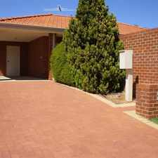 Rental info for WELL MAINTAINED VILLA IN TIDY COMPLEX. in the Coogee area