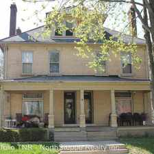 Rental info for 1047 Hunter Avenue in the Columbus area