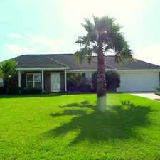 Rental info for This lovely home features great landscaping.