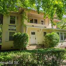 Rental info for 808 W. Nevada St.
