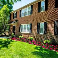Rental info for Greenview at Chestnut Run
