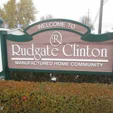 Rental info for Rudgate Clinton