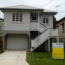 Rental info for Renovated & Perfectly Positioned. in the Brisbane area