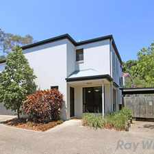 Rental info for Gorgeous Air Conditioned Townhouse! in the Brisbane area
