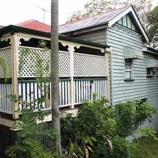 Rental info for LARGE BALCONY PERFECT FOR THOSE SUMMER AFTERNOONS in the Brisbane area