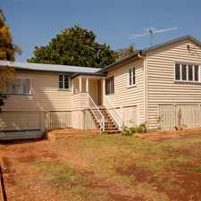 Rental info for A rare opportunity and in a great location in the Toowoomba area