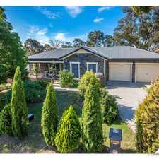 Rental info for UNDER APPLICATION - Beautiful 3 Bedroom Family Home in the Queanbeyan area