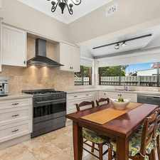 Rental info for LARGE FAMILY HOME WITH LARGE LOCK UP GARAGE CALL in the Burwood area