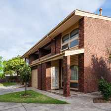 Rental info for Townhouse in lovely suburb! in the Adelaide area