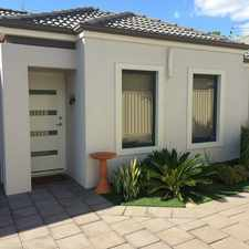 Rental info for MODERN, LIGHT, BRIGHT AND PERFECT! in the Nollamara area