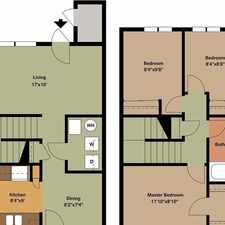 Rental info for Zimmerman is the Place to be! Come Home Today. $875/mo