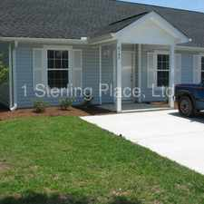Rental info for 212-A Allen Richard Court, Moncks Corner