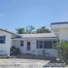 Rental info for 144 Ormond Parkway