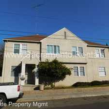 Rental info for 3415 L Street in the East Sacramento area