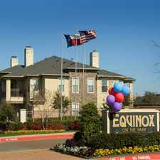 Rental info for Equinox on the Park in the Garland area
