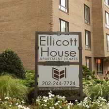 Rental info for Ellicott House in the Chevy Chase-DC area