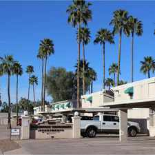 Rental info for McClintock Townhomes in the Tempe area
