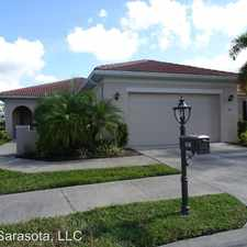 Rental info for 106 Lerida Court in the Venice area