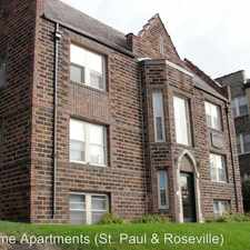 Rental info for 1311 Grand Ave - 103 (1/2R) in the Macalester - Groveland area