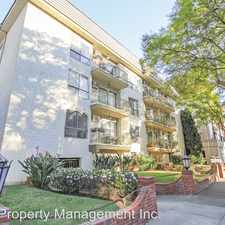 Rental info for 320 S. Clark Dr. Apt 108 in the Los Angeles area