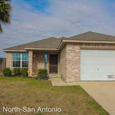 Rental info for 10815 Shaenfield Ct in the San Antonio area