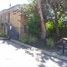 Rental info for GROUND FLOOR APARTMENT IN IDEAL LOCATION in the Victoria Park area