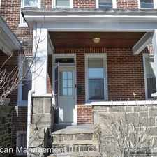 Rental info for 328 W. 30th St. in the Wyman Park area