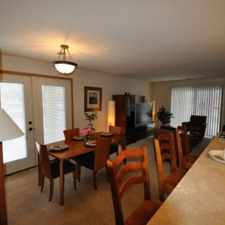 Rental info for Each has a mini bedroom area and a full kitchen with a dishwasher.
