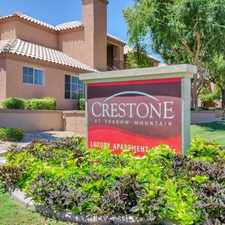 Rental info for Crestone at Shadow Mountain in the Phoenix area