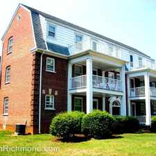 Rental info for 4213 Grove Avenue # 1 in the Mary Munford area