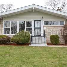 Rental info for Very Spacious Single Family Home Located in Avalon Park. in the Marynook area