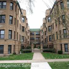 Rental info for 927 Forest 1W in the Evanston area