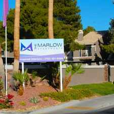 Rental info for The Marlow Apartments in the Henderson area