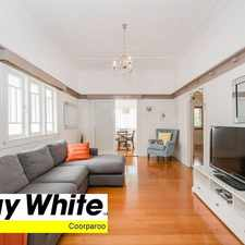 Rental info for STUNNING QUEENSLANDER!