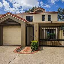 Rental info for 3 BEDROOM TOWNHOUSE in the Gold Coast area