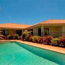 Rental info for SPACIOUS FAMILY HOME WITH POOL & REAR YARD ACCESS IN THE PENINSULA ESTATE in the Helensvale area