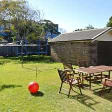 Rental info for 3 BEDROOM HOME & GARAGE in the Rosebery area