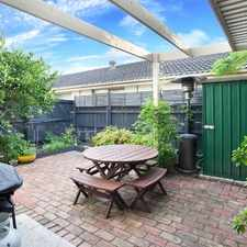 Rental info for Superb Location with Private Courtyard in the Melbourne area
