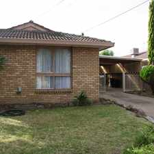 Rental info for WALK TO THE STATION - 3 BEDROOM HOME in the Melton area