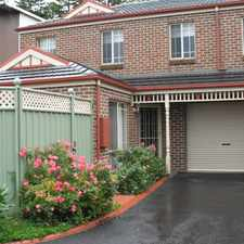 Rental info for Central 3 Bedroom Townhouse